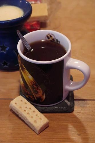 Pure Butter Shortbread zum Schwarzen Tee