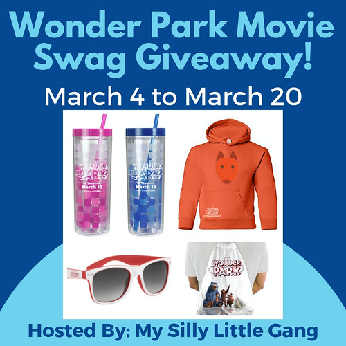 Wonder Park Movie Swag Giveaway