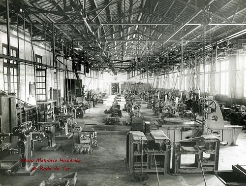 interior fàbrica Bracons i Riera SA Roda de Ter