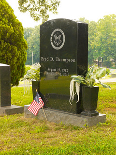 Fred Thompson Grave