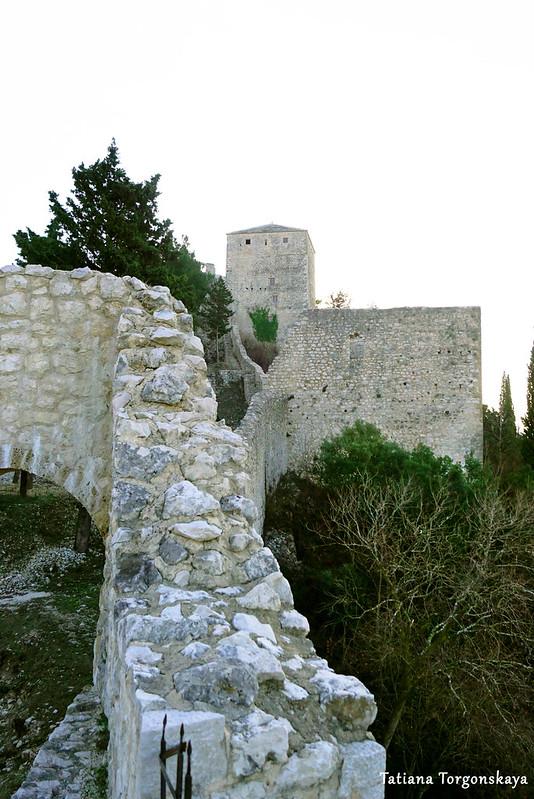 Вид с башни вверх