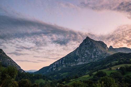 Pico San Vicente colorido