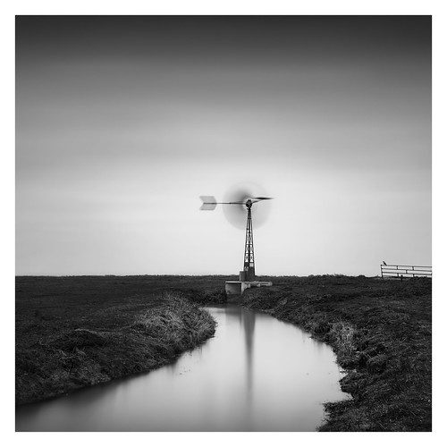Dutch Polder - The water mill