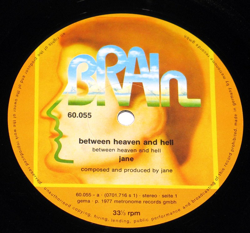 "Jane Between Heaven and Hell 12"" vinyl LP"
