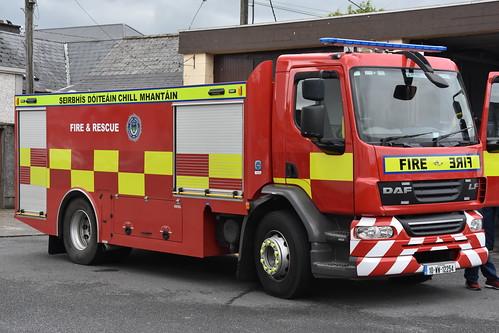Wicklow County Fire Service 2010 DAF LF HPMP Fire WrC 10WW12254