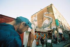Street Art, Brick Lane, London.