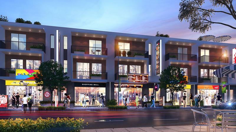 Mẫu nhà phố thương mại shophouse 7x15 m