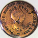 George III Penny Made into a Merchant Token or Promotion for Lloyd's Weekly Newspaper