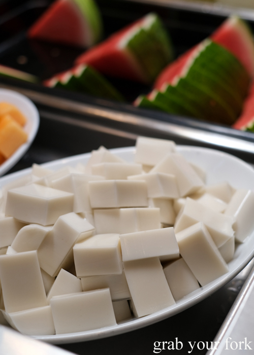 All you can eat coconut jelly at Capital Thai in Haymarket Chinatown Sydney