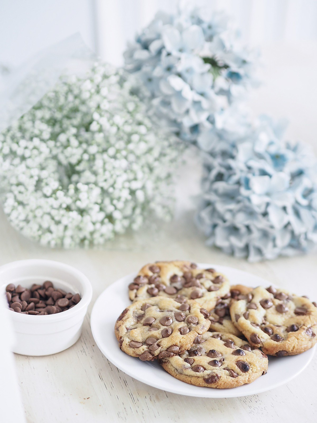 soft chocolate chip cookie recipe blogger baking
