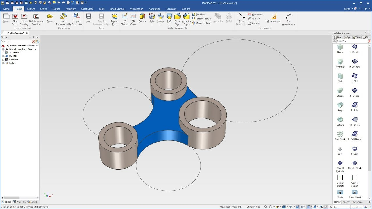 Working with IronCAD Design Collaboration Suite 2019 full license