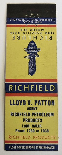 LLOYD V. PATTON RICHFIELD LODI CALIF