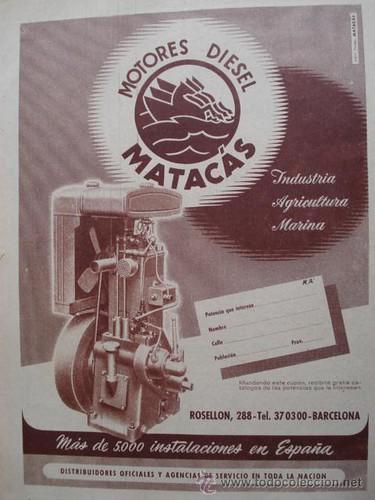 publicitat motor dièsel Matacàs