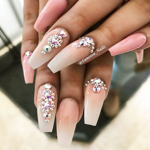61 Beautiful Acrylic Short Square Nails Design For French