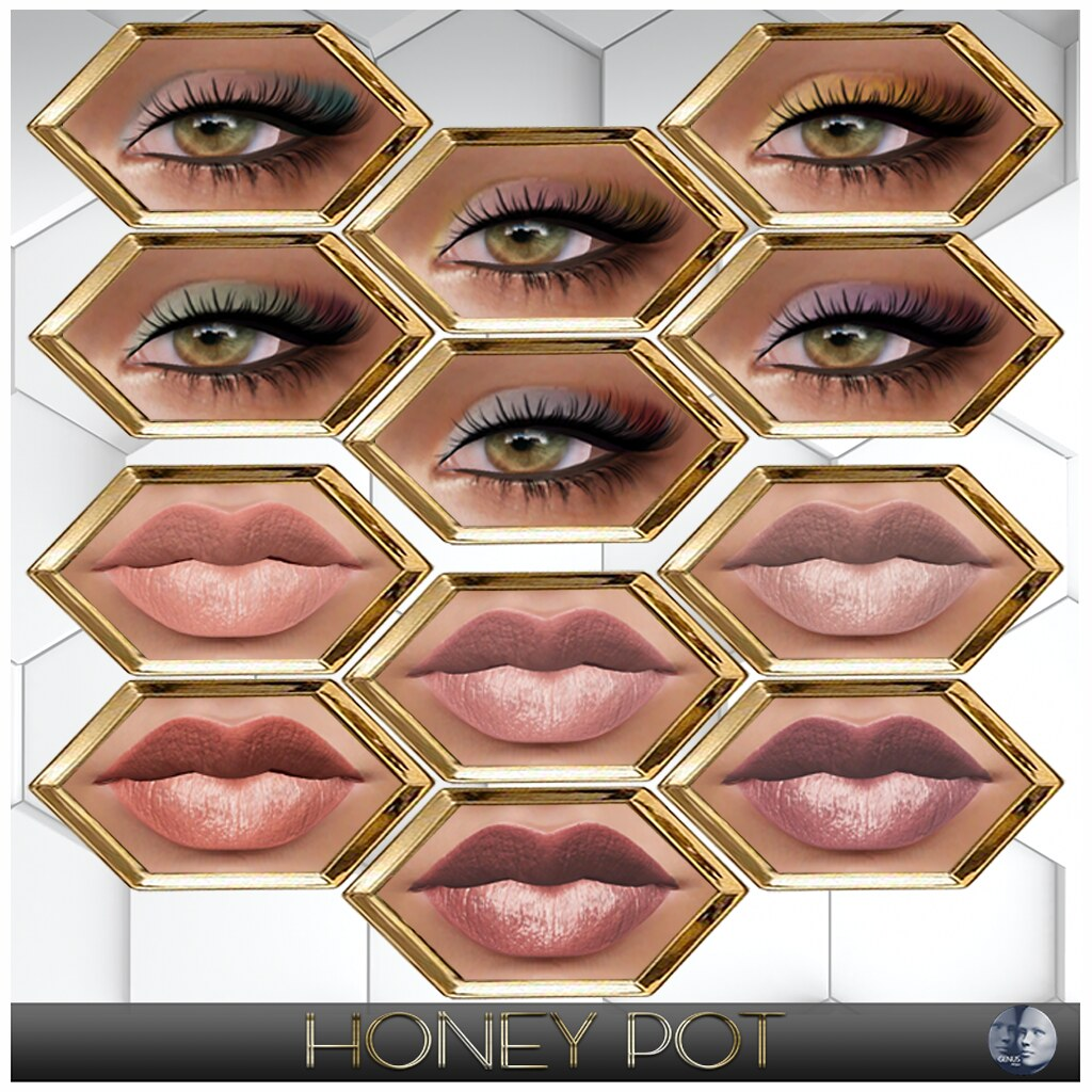 HoneyPot GENUS Makeup Collection Cora