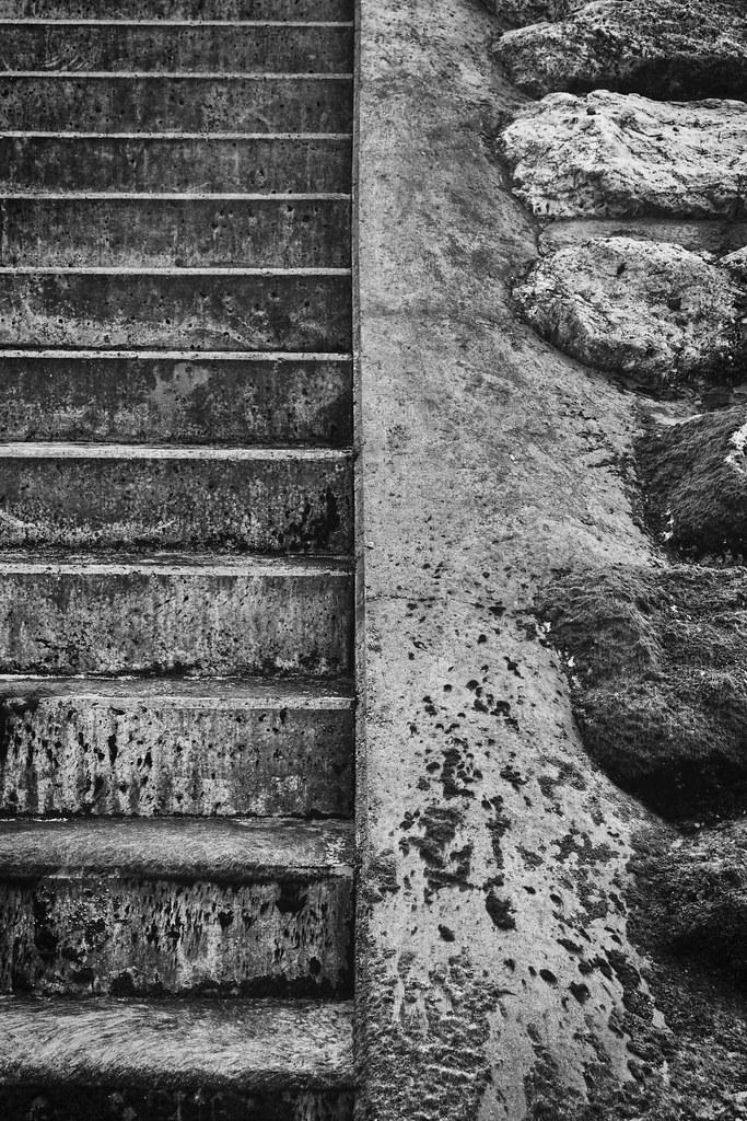 Escalier-N&B