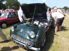 617 UXY a 1961 2138cc Triumph TR3A