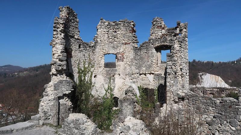 Old Castles of Samobor Hills, CROATIA, March 2019