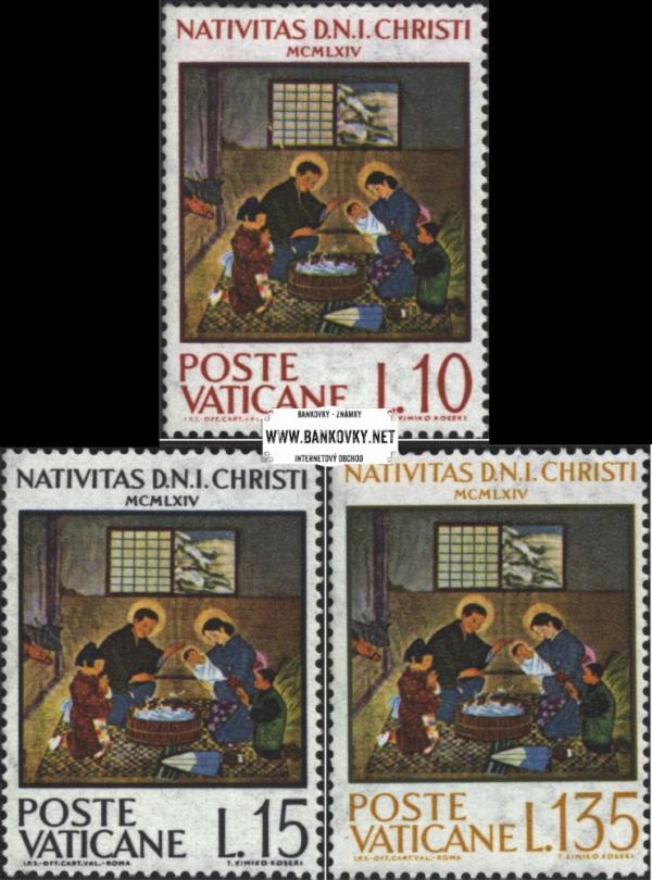 Známky Vatikán 1964 Vianoce, neraz. séria