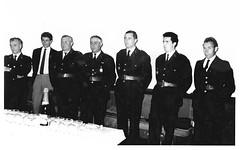 1965 Vin d'honneur retraite sergent Thevenot