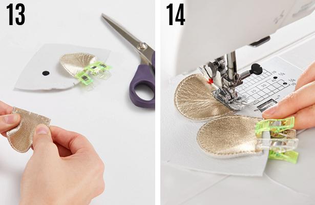 Mouse Bag DIY Steps 13 14