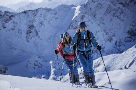 Seznámení se skialpinismem akompletní skialpové vybavení vHarfasportu