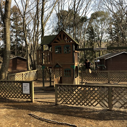 フォンテーヌの森キャンプ場の遊具