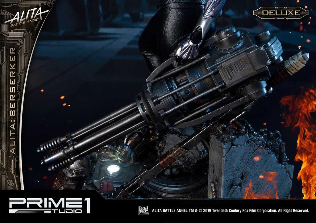 Prime 1 Studio《艾莉塔:戰鬥天使》艾莉塔 狂戰士 アリータ バーサーカー  PMABA-01 1/4 比例全身雕像作品 普通版/DX版