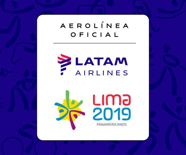 LATAM Airlines Juegos Panamericanos 2019 Logo (LATAM)