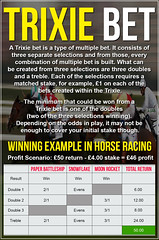 How To Work Out A Trixie Bet - Trixie Betting Explained
