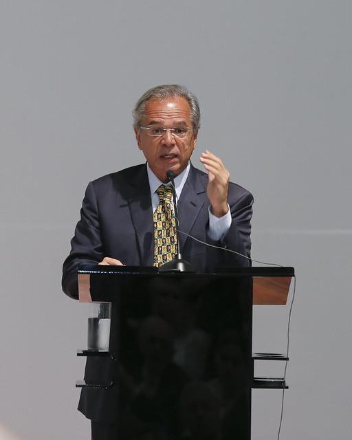02/01/2019 Paulo Guedes assume o Ministério da Economia