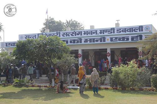 View of Sant Nirankari Satsang Bhawan, Mandi Dabwali