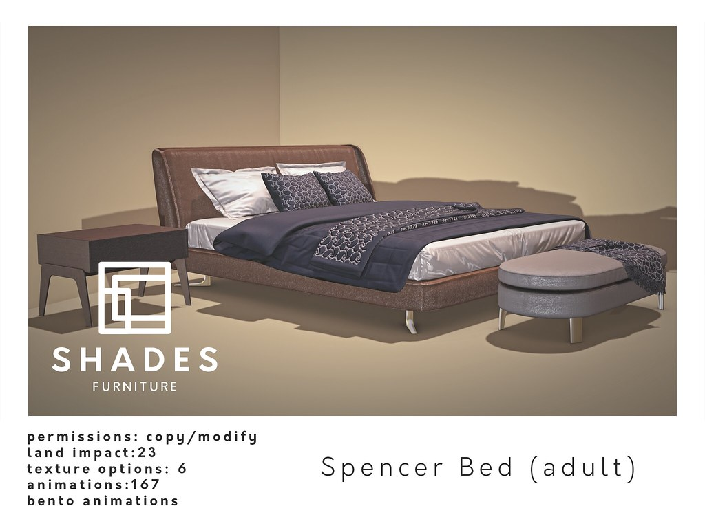 SHADES – Spencer Bed