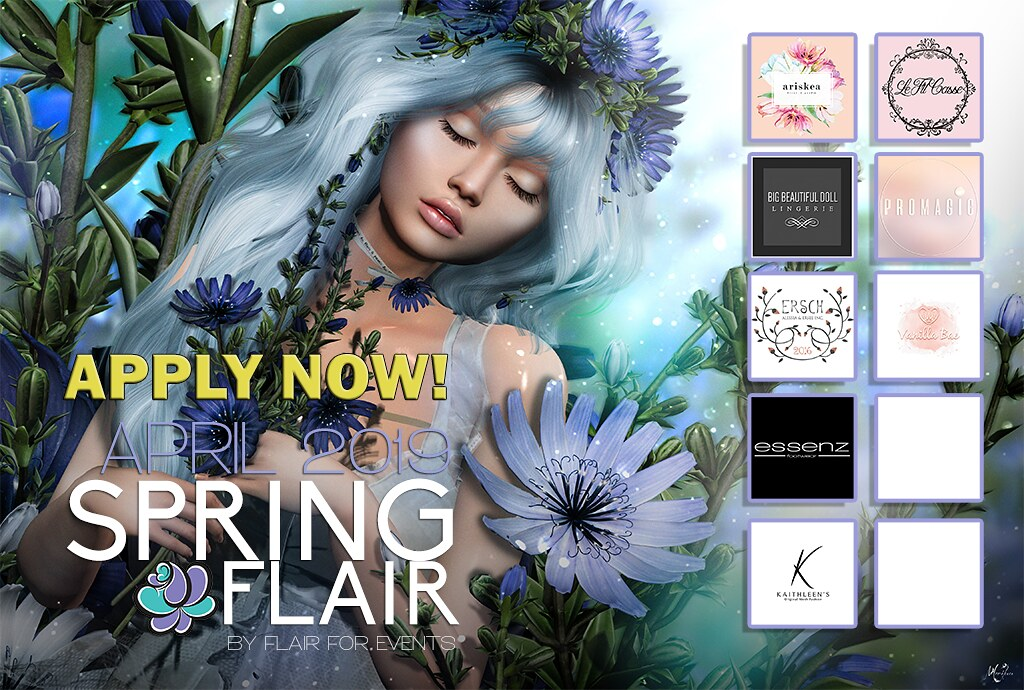 Spring Flair 2 – APPLY NOW!