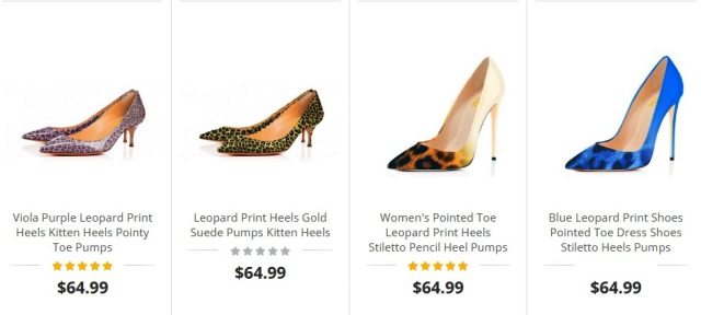 FSJshoes Leopard Print Shoes Various Colors