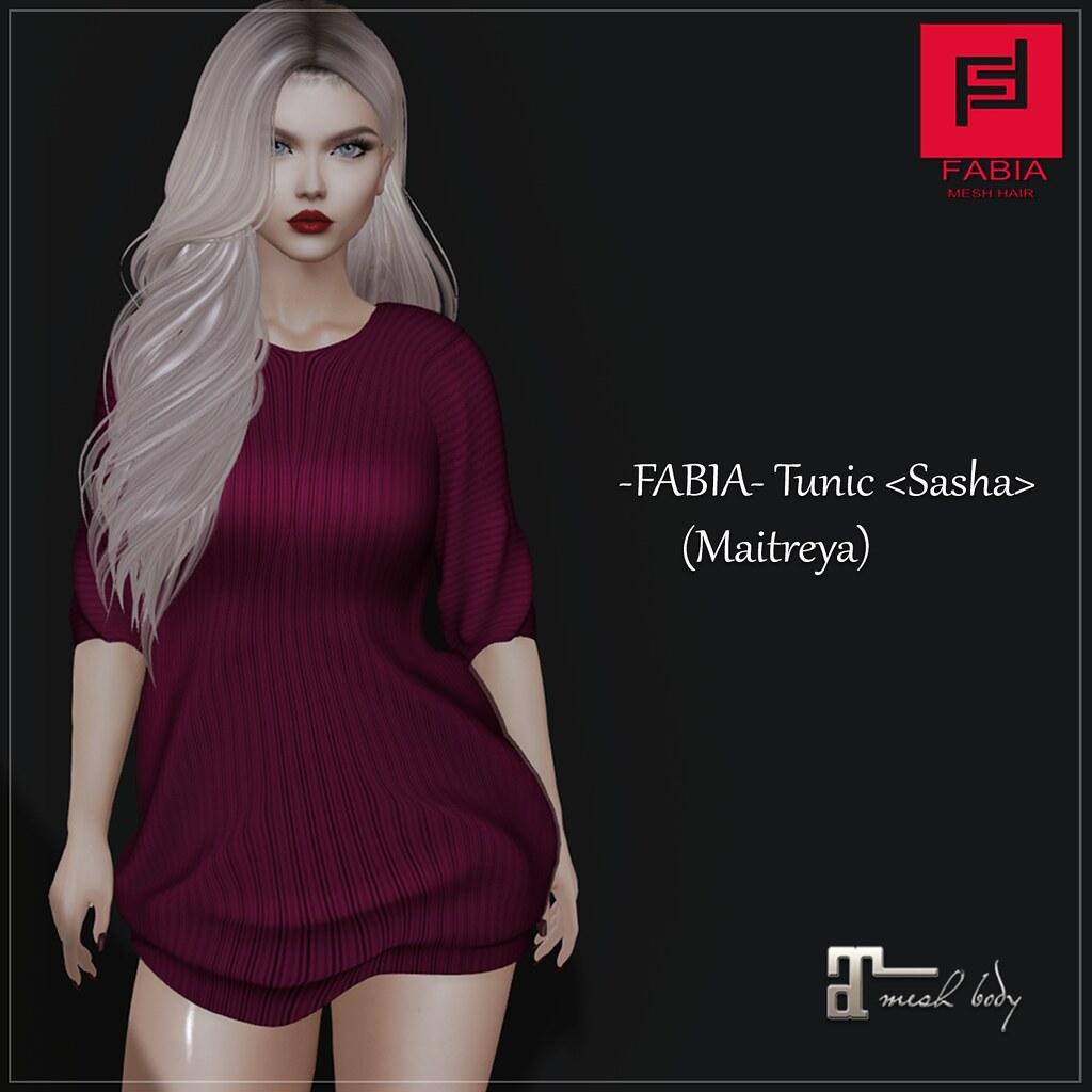 -FABIA- Tunic <Sasha>