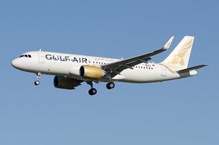 F-WWBX / A9C-TB - Airbus A320-251 NEO - Gulf Air - msn 8779