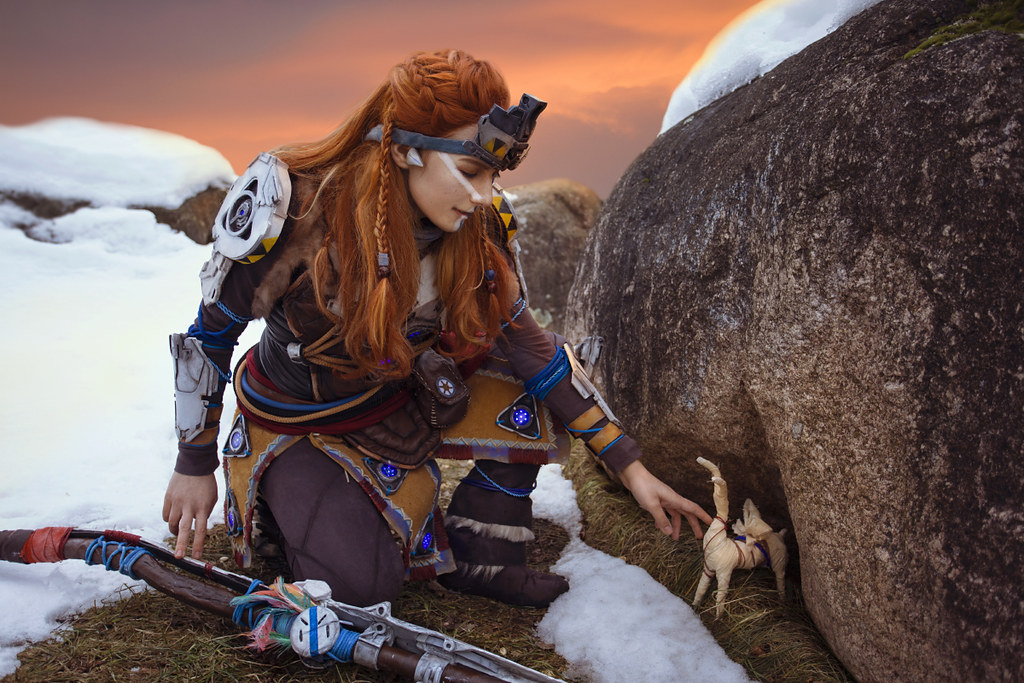 Horizon Zero Dawn Aloy Cosplay