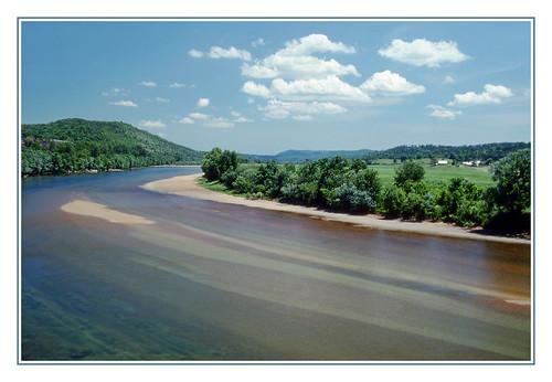 The White River of the Arkansas Ozarks - 1977