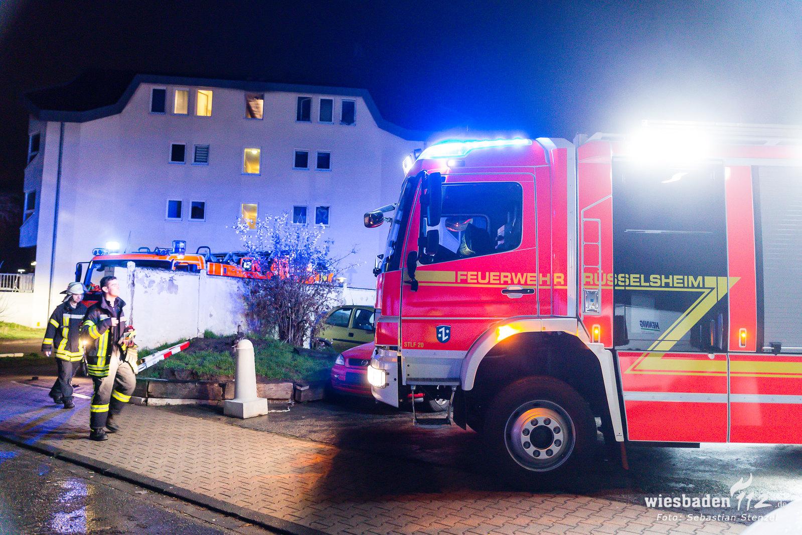 Wohnungsbrand Rüsselsheim 07.03.19