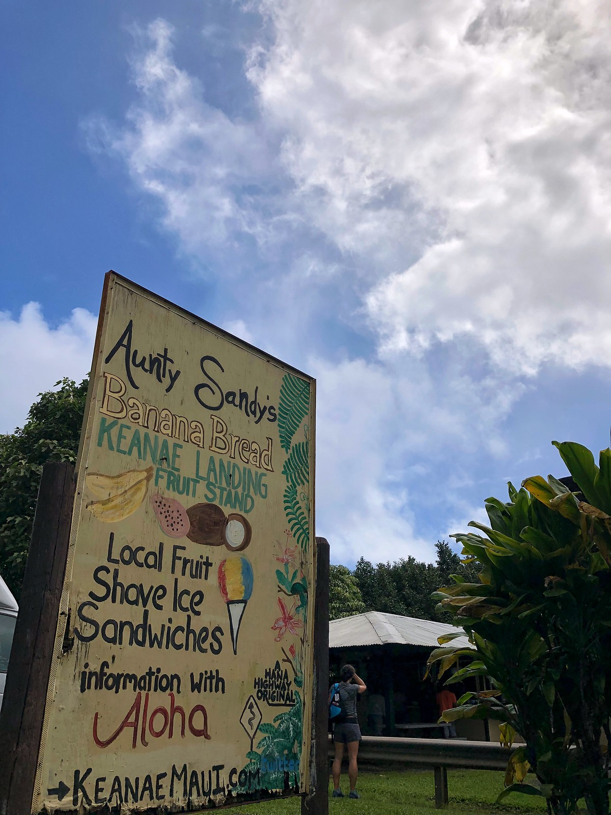 Aunty Sandy's Banana Bread Keanae Landing Best Road to Hana Stops Reasons to Visit Maui Hawaii