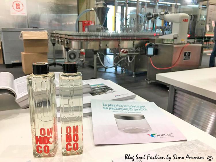 O NO.CO No compromise um produto industrial sustentável para a cura e a lavagem dos cabelos com a embalagem feita totalmente com produtos recicláveis