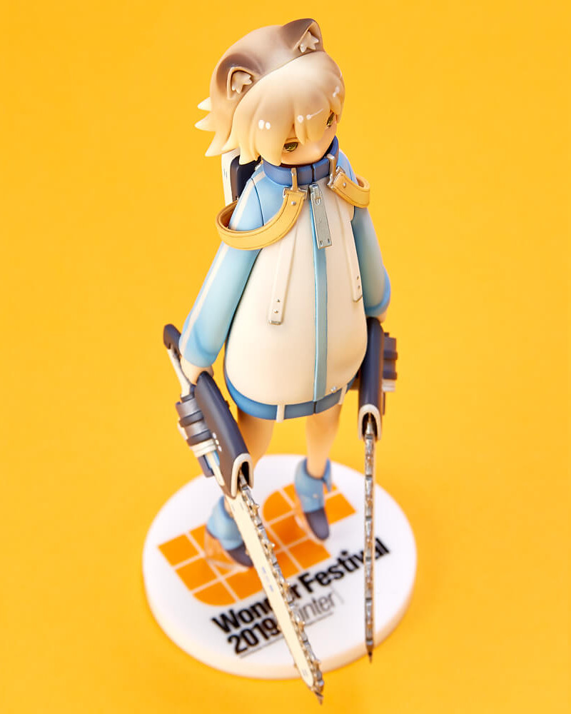 【WF2019冬限定】海洋堂xGSC『Wonda-chan NEXT DOOR PROJECT』FILE:07 POCO Ver. 未塗裝GK套件