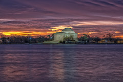 Jefferson Memorial Dawn 010719