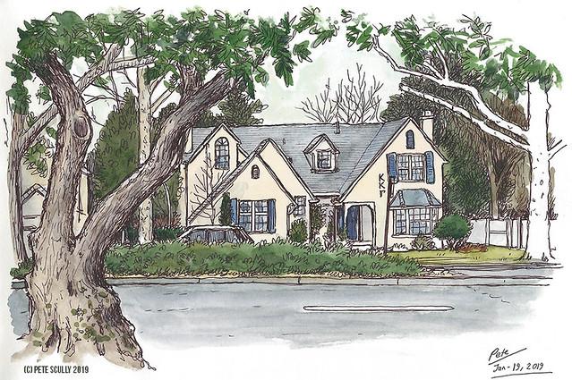Frat House Russell Blvd, Davis CA
