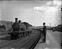 Ballater Railway Station, ca. 1950