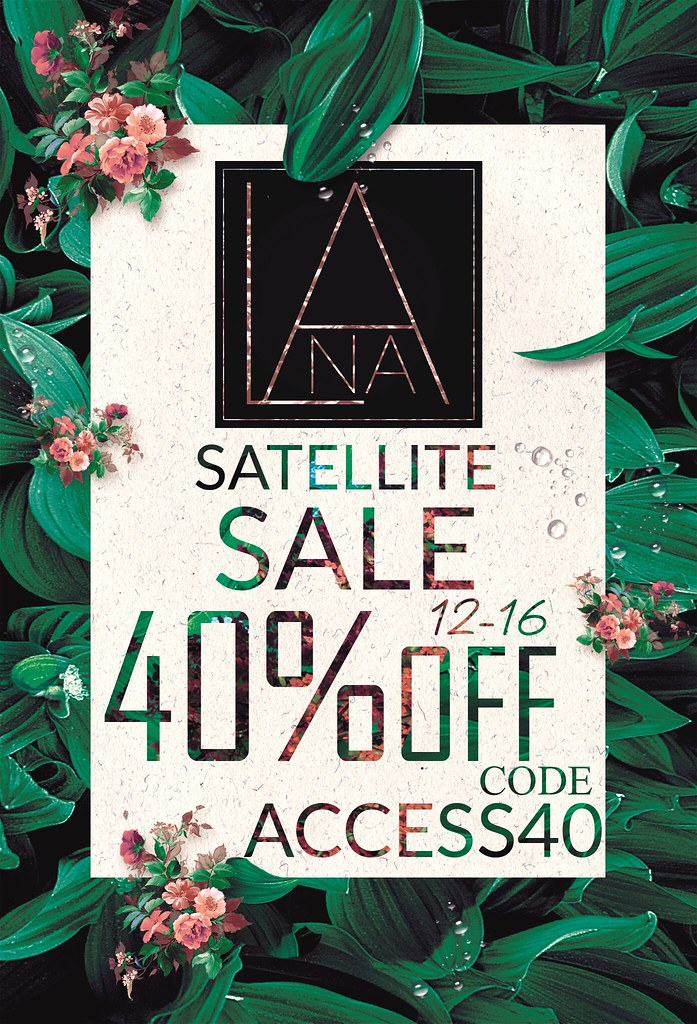 #LANA – ACCESS Satellite Sale !