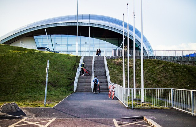 Steps to The Sage at Gateshead