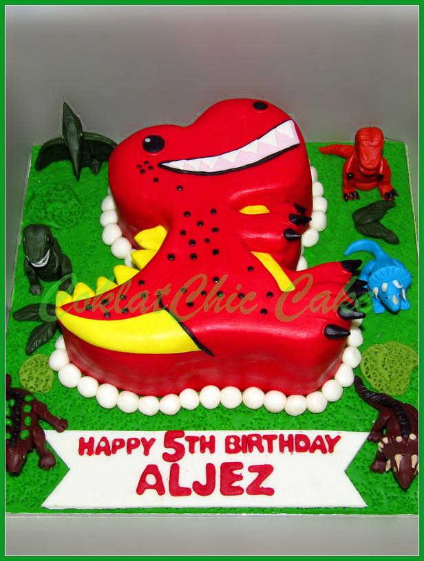 Cake Dino ALJEZ 18 cm