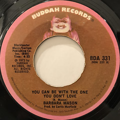 BARBARA MASON:GIVE ME YOUR LOVE(LABEL SIDE-B)